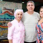Lia Martins,Ruben e Larissa Martins