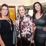 Tereza Macedo, Cristina Aboim e Denise Grassi
