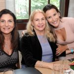 Denise Grassi, Olidia Carvalho e Julia Dunley