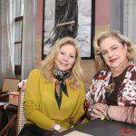 Katia Garrido e Cristina Aboim