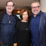 João Camargo, Stella Freitas e Marcus Montenegro