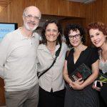 Marcos Caruso, Zelia Duncan, Luciana Braga e Andrea Veiga