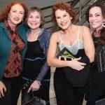 Debora Olivieri, Silvia Massari, Andrea Veiga e Flávia Monteiro
