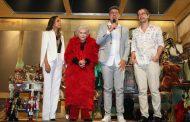 """Estreia da """"Peça Através da Iris"""" reúne famosos no Teatro Maison de France"""