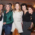 Maria Maya, Betty Faria, Leona Cavalli, Luciana Braga e Andrea Veiga