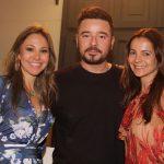 Alessandra Amaral, Carlos Tufvesson e Isabela Menezes