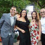Alex Oliveira, Cristina Côrtes, Virna Carvalho e Marcus Rondon