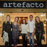 Aline Celles, Juliana David, Theresa Caldas, David Defizio e Aline Guimaraes Otero