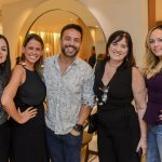 Ana Raquel Ferreira, Rachel França, Alexandre Cardim, Evangelina Campos e Flavia Campos