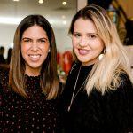 Andreia Quinteiro e Aline Moniz