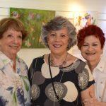 Aurea Silva, Marilene Tapias e Nelly Gutmacher