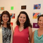 Bia Sampaio, Erika Nascimento e Marta Pereira