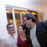 Claudio Cadeco, Talitha Rossi e Marcos Prado