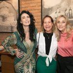 Cristiane Machado, Jaqueline Barreto e Angela Lemos