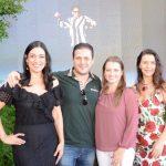 Cristina Côrtes, Eduardo e Michelle Marchioro e Virna Carvalho