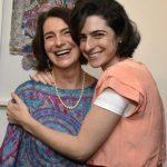 Monica Barki e a filha Esther Barki