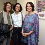 Paula Sayade , Valéria Costa Pinto e Monica Barki