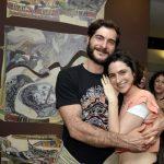 Os irmãos Bhagavan David Barki e Esther Barki