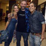 Naiana Borges, Diogo Gameiro e Evandro Rius