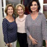 Dulce Martins, Cyrene Leonardo e Carmen Silva