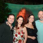 Eduardo Marchioro, Virna Carvalho, Cristina Côrtes e Sandro Ward