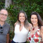 Eduardo Souza e Ilana Senos com Virna Carvalho