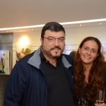Esteban Tapias e Samatha Magalhães