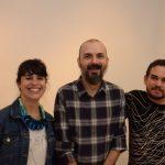 Fernanda Lopes, Hugo Houayek e Raphael Fonseca