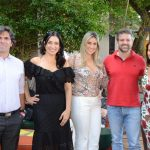 Francisco Souza, Cristina Côrtes, Vanessa Rezende, Bruno Fernandes e Virna Carvalho