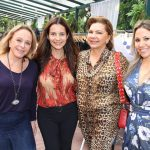 Graça Oliveira Santos, Isabela Menezes, Zezé Dantas e Alessandra Amaral