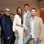 Marcus Montenegro, Maria Maya, Cacau Hygino e Wesley Telles