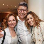 Silvia Salgado, Cacau Hygino e Leona Cavalli