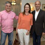 Luiz Augusto Barboza, Flavia Teichert e Sérgio Scodro