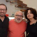Manoel Novello, Jozias Benedicto e Ana Linnemann