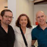 Manoel Novello, Martha Niklaus e Raul Leão