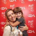Melina Dalboni com a filha Bettina