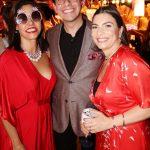 Narcisa Tamborindeguy, Netto Moreira e Adriana Moreira