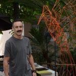 O escultor Roberto Romero