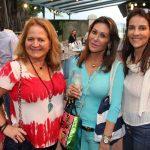 Renata Fraga, Beth Andrade e Laura Pires Gonçalves Paes