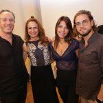Ricardo e Andrea Stern, Thais Barbachan e Rafael Hansen