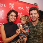 Sophie Charlotte, o filho Otto e Daniel Oliveira