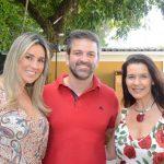 Vanessa Rezende, Bruno Fernandes e Virna Carvalho