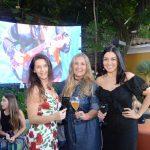 Virna Carvalho, Cris Ehrenbrink e Cristina Côrtes