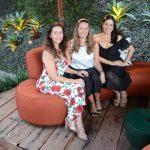 Virna Carvalho, Cristina Côrtes e Aline Otero