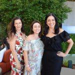 Virna Carvalho, Isabel Félix e Cristina Côrtes