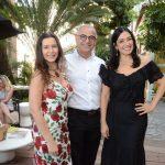 Virna Carvalho, Marcus Rondon e Cristina Côrtes