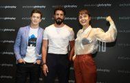 Lançamento da série 'Ilha de Ferro', original do Globoplay, reúne elenco no Rio