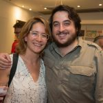 Alice Passos e João Camarero