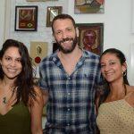 Amana Thurler, Rodrigo Armstrong e Duane Amorim