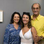 Ana Maria, Carolina e Luiz Eduardo Indio da Costa